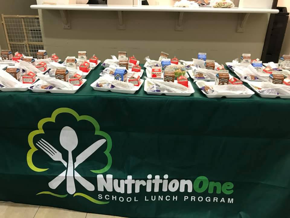 Lunches set out to meet the National School Lunch Program Standards
